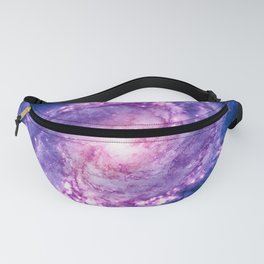 Cosmic vacuum cleaner (Spiral Galaxy M83) Fanny Pack