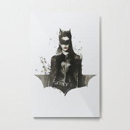 TDKR-catwoman II Metal Print