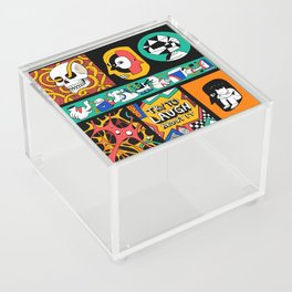 Try to laugh about it Acrylic Box