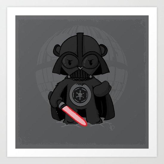 Care Vader Art Print
