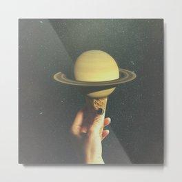 Saturn Cone Metal Print
