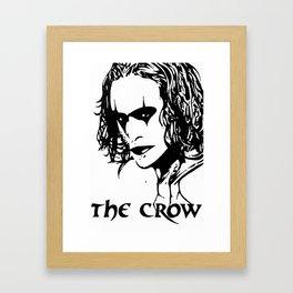 The Crow 1 Framed Art Print