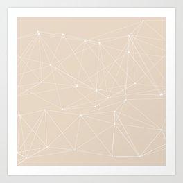 LIGHT LINES ENSEMBLE III-A Art Print