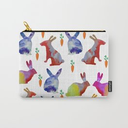 Rabbits Joy Carry-All Pouch