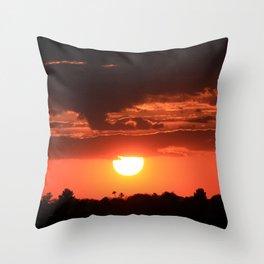 Tucson Sunset III Throw Pillow