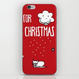 Together for Christmas iPhone Skin