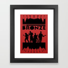 The Bronze Framed Art Print