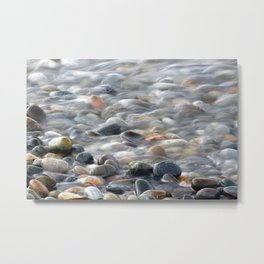 Smooth Rocks Metal Print