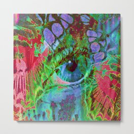 Physic Eye Metal Print