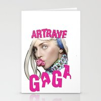 artrave Stationery Cards featuring ArtRave by Marcelo BM