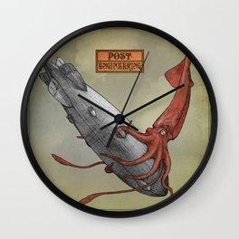 post-engineered vol.1 (artwork by Kapiller Ferenc) Wall Clock