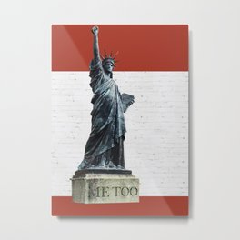 And Liberty For All Metal Print