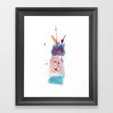 Icecream Framed Art Print