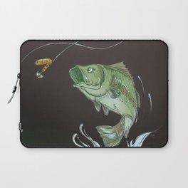 Bass Jumping At Night Laptop Sleeve