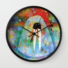 I Am the Walrus Wall Clock