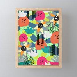 Whimsy festival Framed Mini Art Print