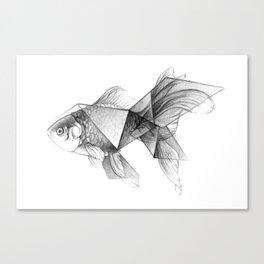Goldfish Origami Canvas Print