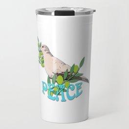 Peace Dove Travel Mug