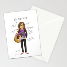 My New York City Getup! Stationery Cards