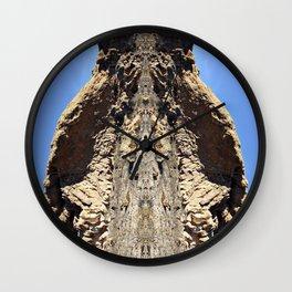 Mama Beaver Wall Clock