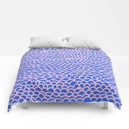 Noodle Doodle Blue Comforters