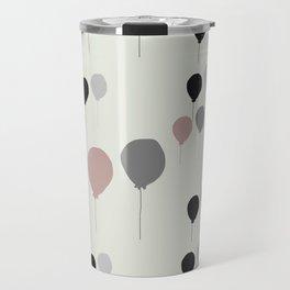 Pink palloncini Travel Mug
