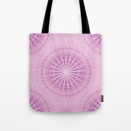 Pink Mandala Geometric Tote Bag