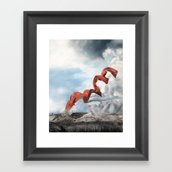 Old rebirth Framed Art Print