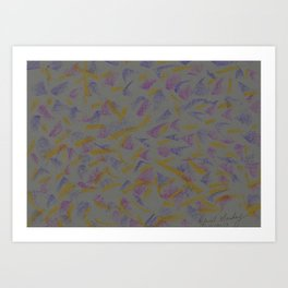 Designer Collection Grey 27 Art Print