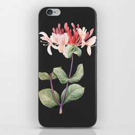 Honeysuckle on Charcoal iPhone Skin