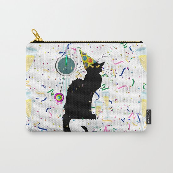 Chat Noir  Party Countdown Carry-All Pouch