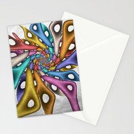 strange forms - a fractal design Stationery Cards
