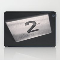 number iPad Cases featuring Number 2 Table Number by Redhedge Photos