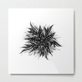 GR1N-FL0W3R (Grin Flower) Metal Print