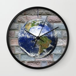 This ain't no Party - Save the Earth Wall Clock