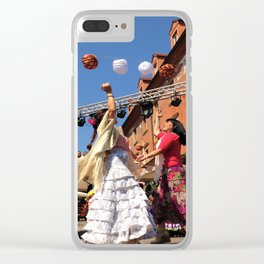 Lively Ljubljana Clear iPhone Case