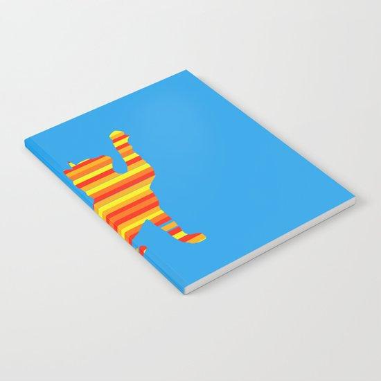 Cat Stripes Notebook
