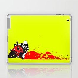 Moto Knee Drag Laptop & iPad Skin