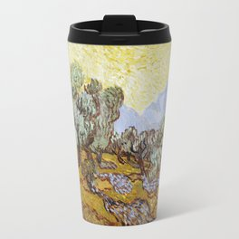 Olive Trees by Vincent van Gogh Travel Mug
