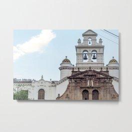 Iglesia Metal Print