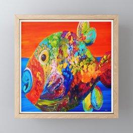 Deviously Dappled Framed Mini Art Print