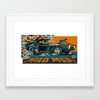 mad max Framed Art Prints featuring Mad Max by Francesco Dibattista