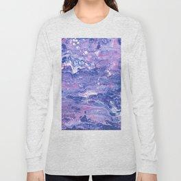 Purple Planet Long Sleeve T-shirt