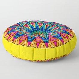 Color Chakra Floor Pillow