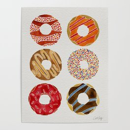 Half Dozen Donuts Poster