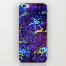 Dreamy nights iPhone Skin