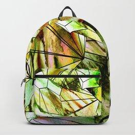 Crystal Golden Gem Backpack