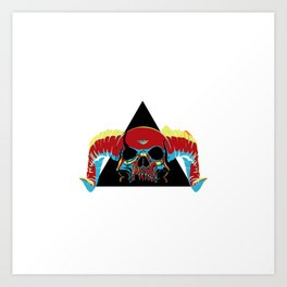 Illuminati Satan - Lucifer Art Print