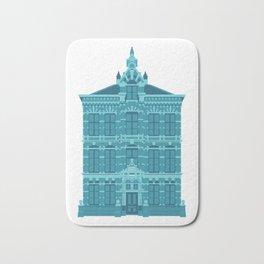 Blue House in Holland Bath Mat