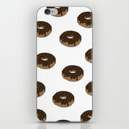 Chocolate Donuts Forever iPhone Skin
